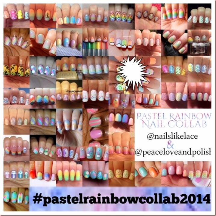 Chitra Pal Pastel Rainbow Collab 2014