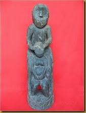 Primitive statue - monkey