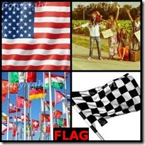FLAG- 4 Pics 1 Word Answers 3 Letters