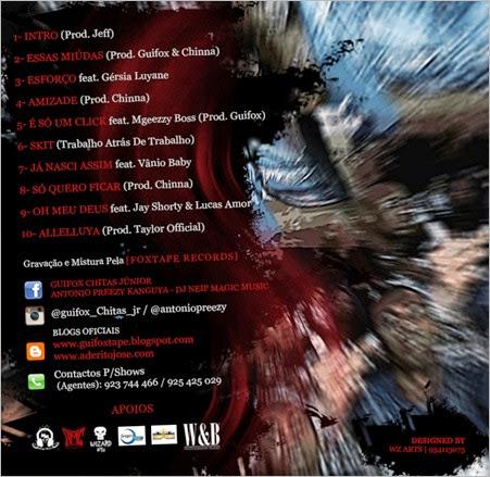 Mixtape Street Gang 2_Guifox & Antó Prezzy_Back