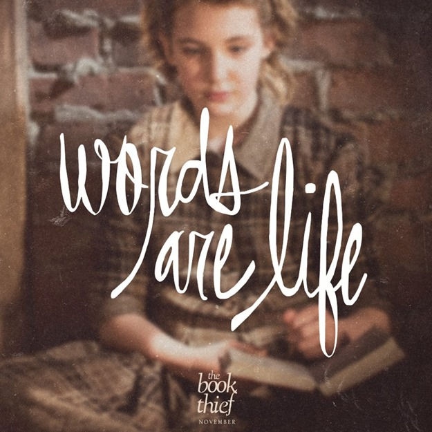the book thief words are life