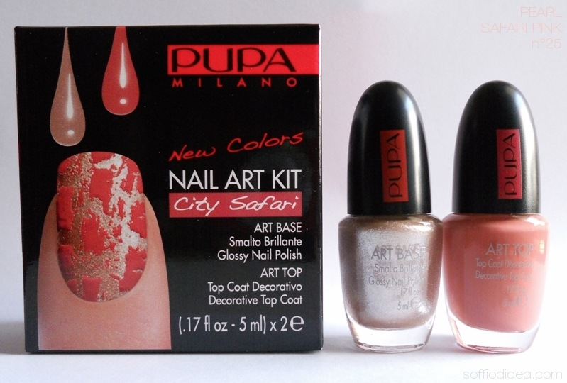 PUPA NAIL ART KIT safari 7