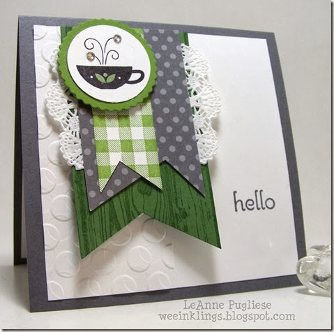 LeAnne Pugliese WeeInklings ColourQ231 Kind & Cozy Stampin Up