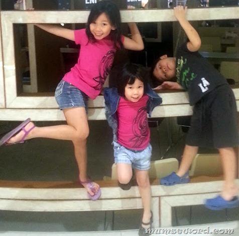 Children in pose