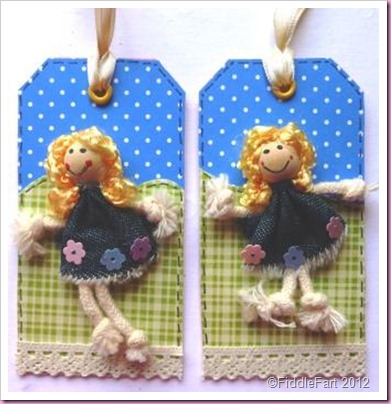 Doll Gift Tags.
