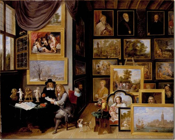 David Teniers, Studio d'artiste