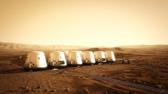 The Mars One mission to Mars