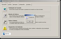 dbAcces : Assistententes : Assistente de Conexão : ODBC (Generic) : Entre com o Ambiente a ser Testado : Conexão OK