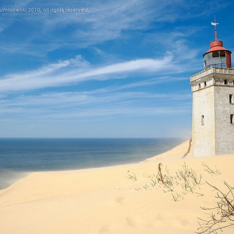 Rubjerg Knude: The Lighthouse Buried in Sand