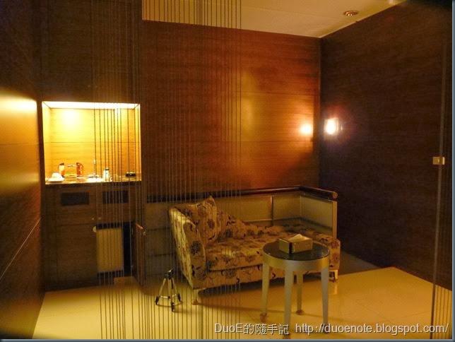 湖山汽車旅館湖光山景508房-起居室