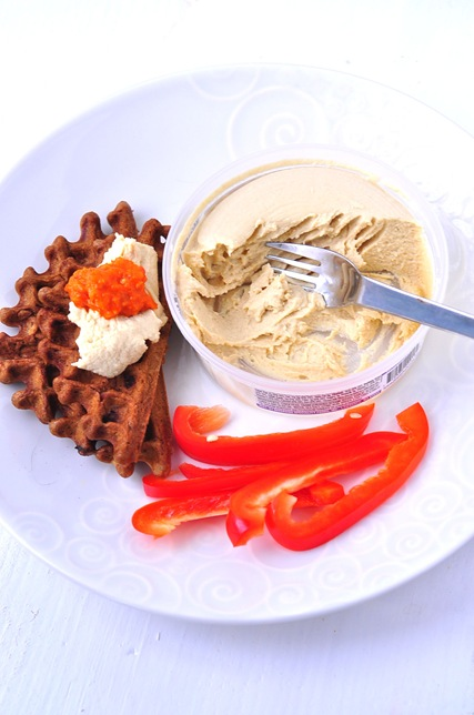 savory_waffles_hummus