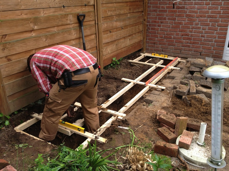 Außenküche Selber Bauen Joint : Projekt außenküche!: das fundament steht