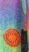 Fotoalbum mit Filzeinband Detail 3