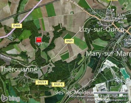rotation avant Lizy-sur-Ourcq (le Gué à Tresmes)