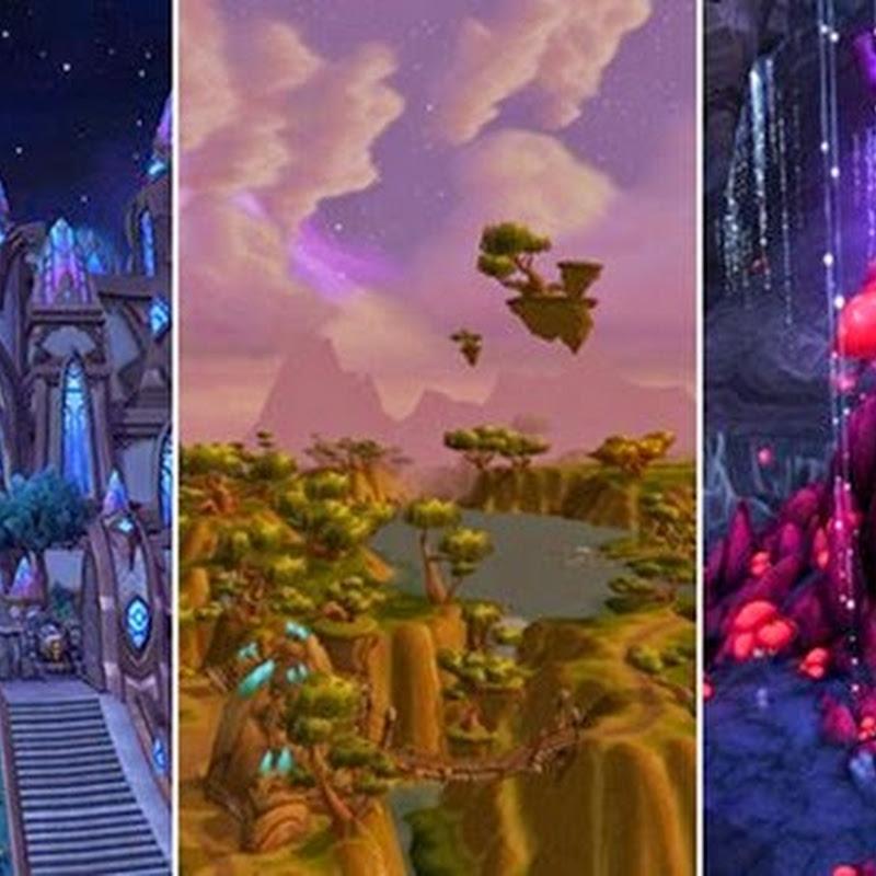 Die Rangliste der World of Warcraft Zonen