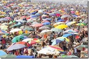 El partido de La Costa, con ocupación colmada durante el feriado de carnaval