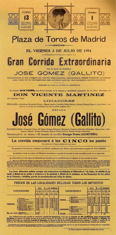 1914-07-03 Gallito Cartel 001