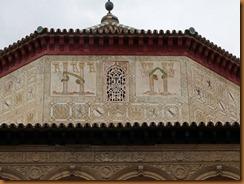 seville, alcazar roof N