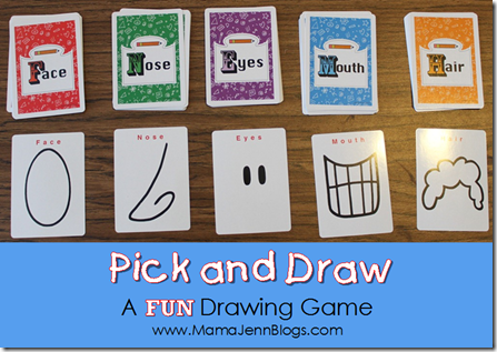 Pick and Draw: A FUN Drawing Game