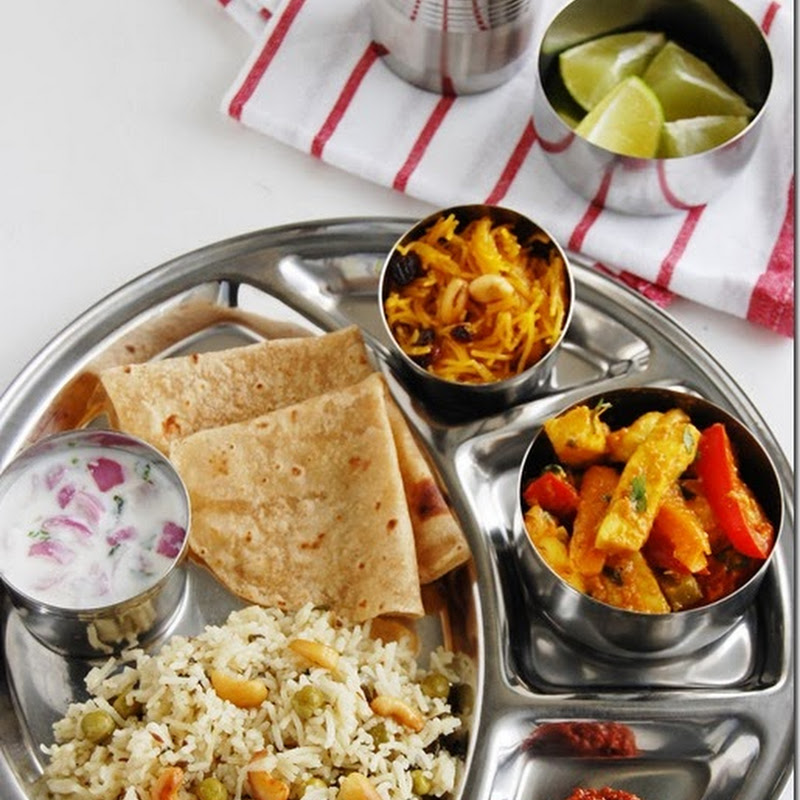 7s meals series –1 (North Indian meal)