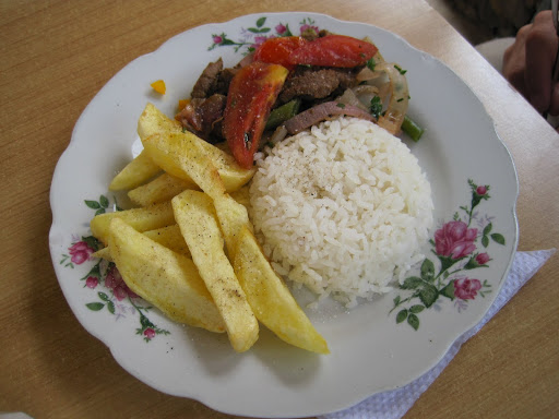 Lomo Saltado made with Alpalca