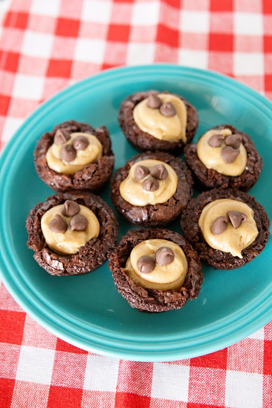 Peanut Butter Brownie Bites Recipe