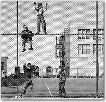 Tests act as a fence around your playground