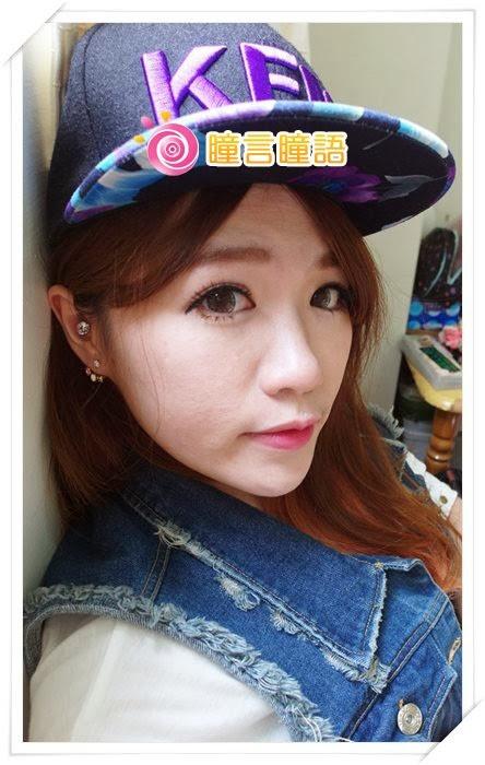 日本ROYAL VISION隱形眼鏡-混血四色灰SAM_1387