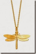 Alex Monroe Dragonfly Necklace from Astley Clarke