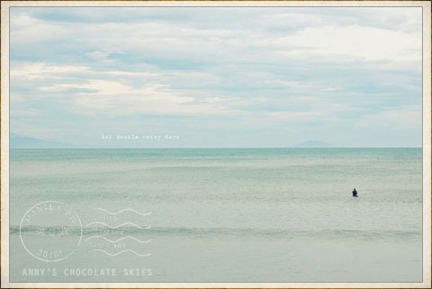 lone surfer of Baler