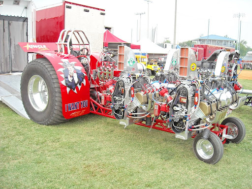 uncle sam side view jpg chapel hill tn truck and tractor pull pit    Uncle Sam Side View