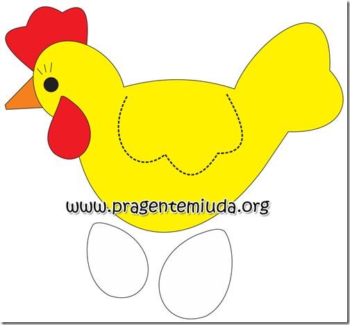molde galinha v