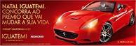 Natal Iguatemi sorteia Ferrari California 43GT