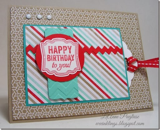 LeAnne Pugliese WeeInklings Paper Players 180 #2 Stampin Up