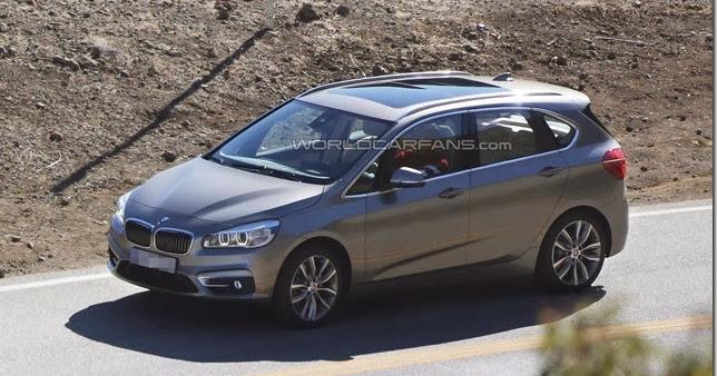BMW Série 2 Active Tourer é flagrado durante filmagens