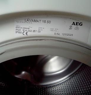 lavamat 15.50 von AEG