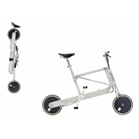 Zoombike collapsible bicycle