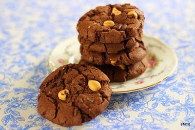 Choc Hazelnut Cookies 4