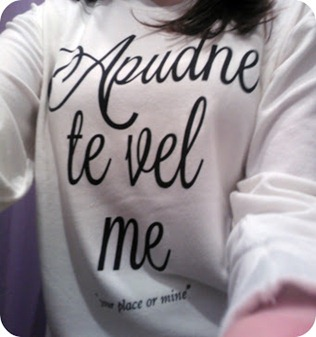 Tee and Cake latin quote sweater