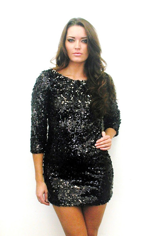 sequin plus size dress2