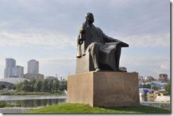 08-05 cheylabinsk 029 monument commémorant le compositeur Prokofiev