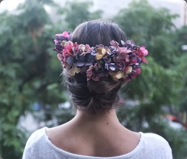 hair be16-1 flowers by bornay