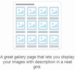 thumbnail gallery
