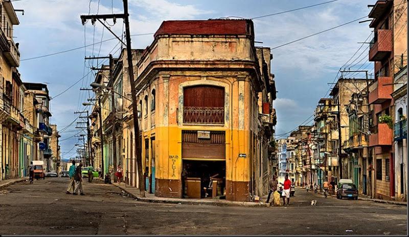 Escenas del centro de La Habana. Gerry Pacher