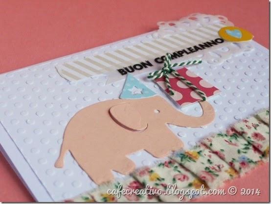 cafe creativo - card compleanno - bimbi - elefantino (2)