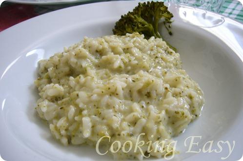 risotto alla crema di broccoli e stracchino (2)