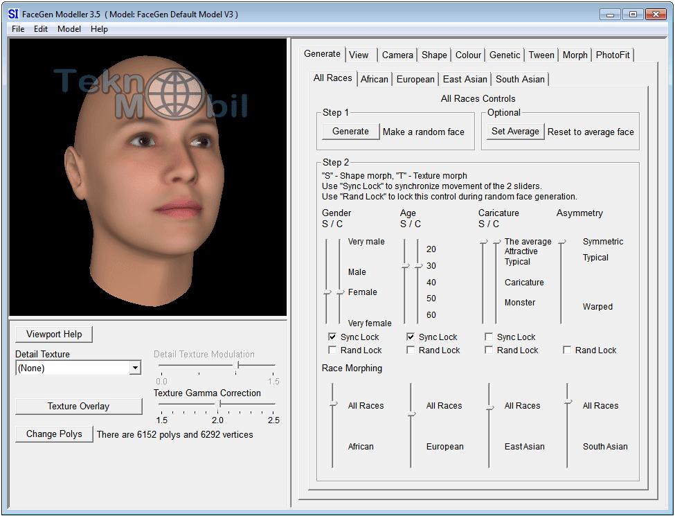 FaceGen Modeller full indir