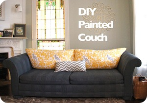 painted couch