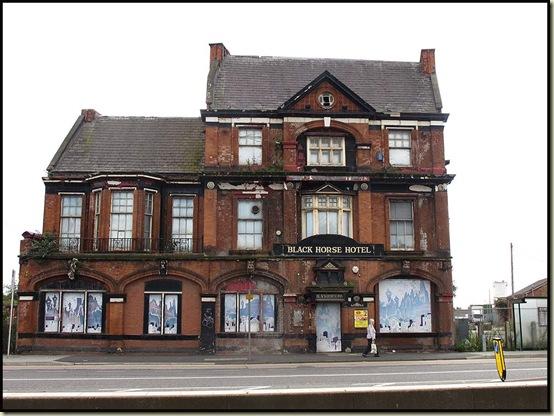 The Black Horse Hotel, Salford