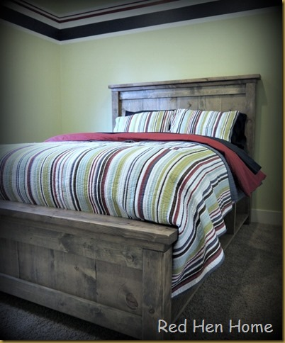 Red Hen Home Handbuilt Bedroom Bed 16